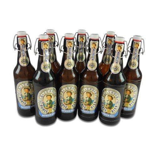 Allgäuer Büble - hell (9 Flaschen à 0,5 l / 4,7 % vol.)