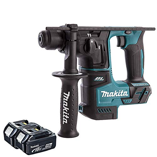 Makita DHR171Z 18V LXT Brushless SDS+ Rotary Hammer 17mm with 2 x 4.0Ah BL1840