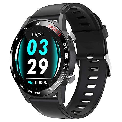 YLKCU Reloj Deportivo Inteligente con Pantalla táctil a Prueba de Agua, Bluetooth, rastreadores de Ejercicios con frecuencia cardíaca/presión Arterial/Monitor de sueño/Contador de calorí