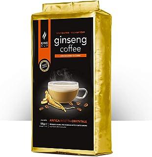 King Cup - 1 Sachet de 500 Gr de Melange en Poudre de Café Soluble au Ginseng au Sucre de Canne, Idéal pour Ajouter à l'Ea...