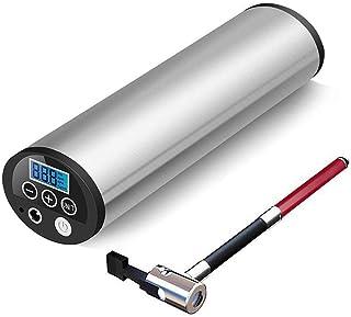 Compresor Aire Coche Inflador Eléctrico Bomba Inflador Aire Digital Apagado Automático Luz LED Recargable Pantalla LCD