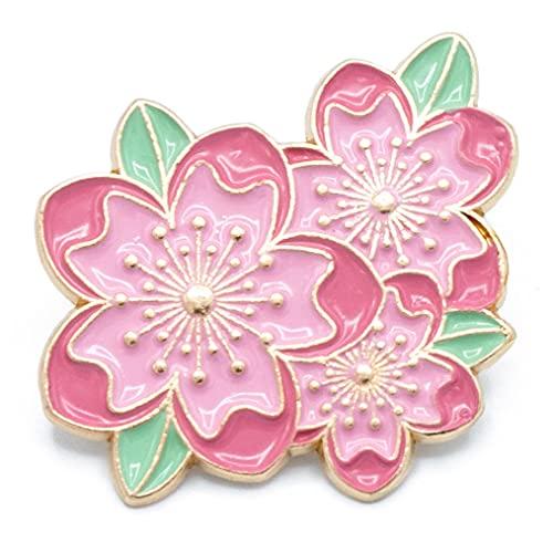 YUTTALIA(ユッタリア) 桜 ピンバッジ さくら ピンズ ブローチ ピンク