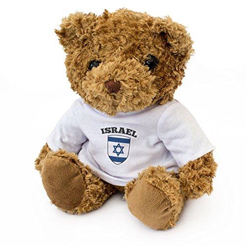 London Teddy Bears BQ-D1KP-C0CJ Israel vlag, bruin
