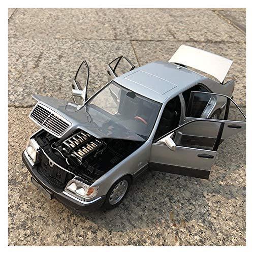 GEBAN Vehículo a Escala 1:18 para Be-NZ Clase S600 Modelo De Automóvil Modelo Simulación Decoración De Automóvil Colección Regalo Juguete Modelo Modelo Modelo