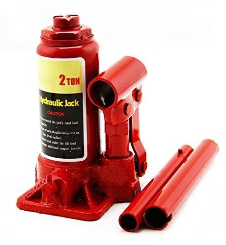 takestop® Rangierwagenheber hydraulischer Wagenheber 2Ton OMCN Flasche Wagenheber senkrecht manuell Auto Räder Rotation Krümmer