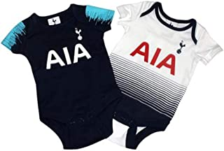 Tottenham Hotspur FC Authentic Cute EPL Baby Body Suits 2 Pack (3-6 Months)