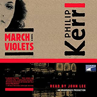 March Violets audiobook cover art