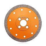 BGTEC Disco de Corte de Cuchilla de Diamante Turbo de Malla X de 125 mm para Mármol de...