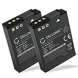 CELLONIC 2X Batterie Compatible avec Nikon CoolPix A1000 A900 W300 S9900 S9700 S9500...