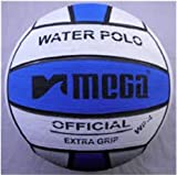 Mega Water Polo Ball - Azul Blanco Talla 5