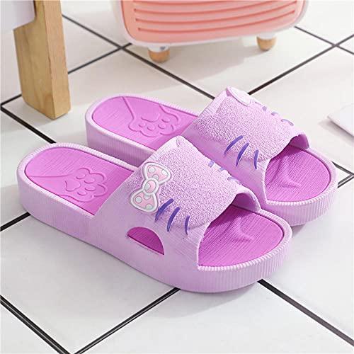 dihui Flip Flops Sandal,La Pendiente Lleva Zapatillas afuera, una Palabra Antideslizante con...