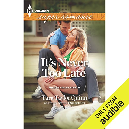 It's Never too Late audiobook cover art