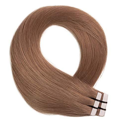 Just Beautiful Hair 20 x 2.5 g Extensions bande adhésives #10 brun cendres 40cm