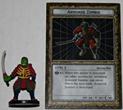 B3-08 Armored Zombie Level 2 American Yugioh DungeonDice Series 3 Ultimate Wrath Single Monster and Card