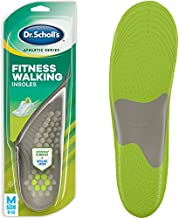 Dr. Scholl's FITNESS WALKING Insoles // Reduce Stress and Strain on your Lower Body while you Walk and Reduce Muscle Soreness (for Men's 8-14, also available for Women's 6-10)