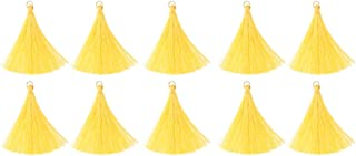 Prettyia 10/pack DIY Craft Tassels Earring Pendants Jewelry Making Accessories Bulk