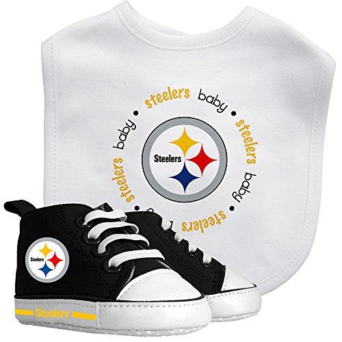 Baby Fanatic Bib & Prewalker Gift Set- Pittsburgh Steelers by Baby Fanatic