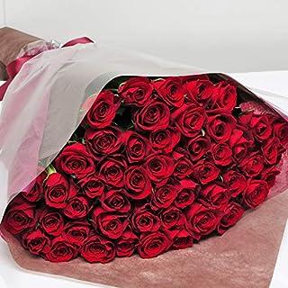 本数をお選びください 赤いバラの花束 10本~100本 最高級のトップローズを使用 薔薇 エーデルワイス 花工房 (50)