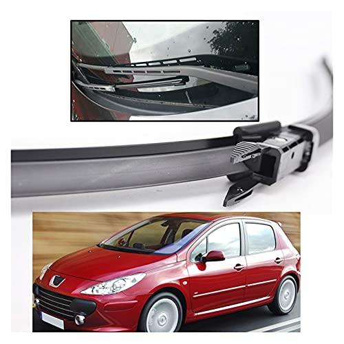 QINDE Limpiaparabrisas Delantero para Peugeot 307 Hatchback 307Cc 307Sw Estate
