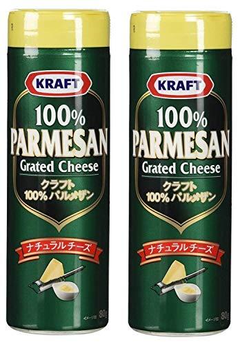 クラフト 100%パルメザンチーズ 80g 2本セット