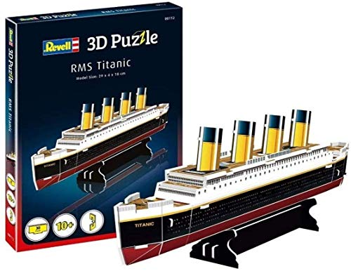 SLL Juguetes 3d rompecabezas tridimensional de construcción modelo tridimensional de montaje de juguete rompecabezas de cumpleaños para niños (color: Titanic)