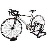 Soporte para entrenador de bicicletas para montar en interiores Resistencia a líquidos silenciosa Plataforma de resistencia para estaciones de carretera para bicicletas de entre 16 y 29 pulgadas