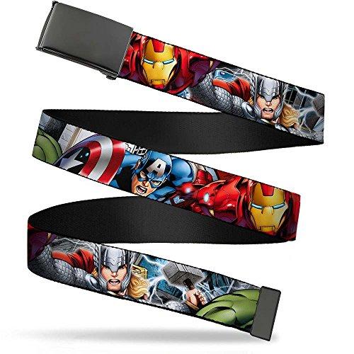 Buckle-Down Web Belt Avengers 1.0