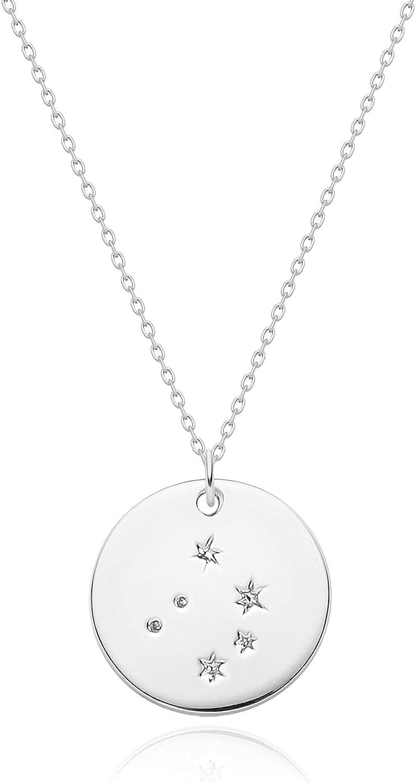 Courier shipping free shipping Mevecco Gold Necklace Coin Disc 12 Zodiac Constellation Free Shipping Cheap Bargain Gift Con Star