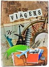 Álbum de Fotos 10x15 Viagem Cidades p/ 200 fotografias