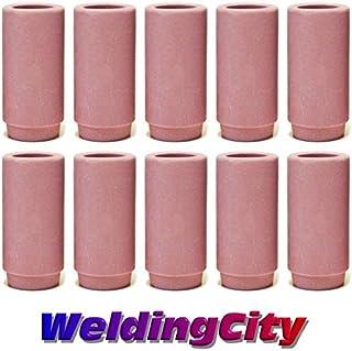 WeldingCity 10-pk Ceramic Cup Nozzle 13N13 #10 5//8 TIG Welding Torch 9//20//25 USA