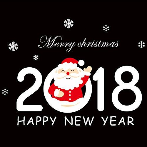 Reyqing Neues Jahr Glas Aufkleber 2018 B 2018 B, In