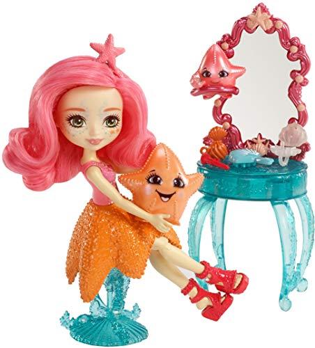 Enchantimals Muñeca Mundo Acuático Starling Starfish con accesorios (Mattel FKV59)