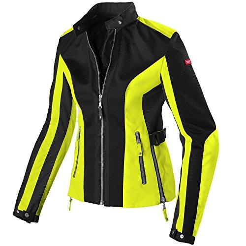 SPIDI Summernet - Chaqueta de tela para mujer, color amarillo neón, talla XL