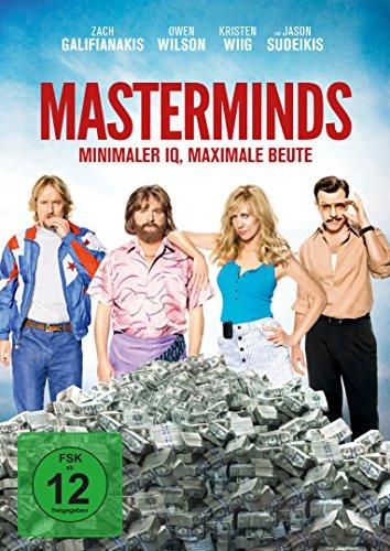 Masterminds - Miminaler IQ, maximale Beute