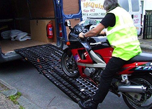 Der Rampen Shop Motorradrampe: Schwarze Witwe Set (2750mm lang x 1000mm breit)