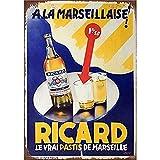 Lumanuby. 1x Vintage Bier Wandschild von Bierflasche und
