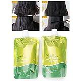Glattes Haar Creme, Hair Relaxer Straight Softener Cream, um Wasser für trockenes Haar zu hydratisieren und zu binden