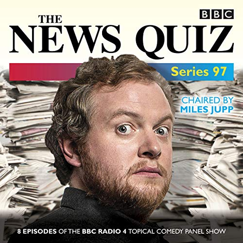 The News Quiz: Series 97     The topical BBC Radio 4 comedy panel show              By:                                                                                                                                 BBC Radio Comedy                               Narrated by:                                                                                                                                 Jo Brand,                                                                                        Miles Jupp,                                                                                        Bridget Christie,                   and others                 Length: 3 hrs and 42 mins     2 ratings     Overall 4.5