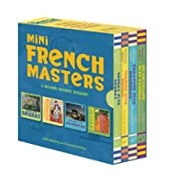 Mini French Masters Boxed Set: 4 Board Books Inside! (Books for Learning Toddler, Language Baby Book)