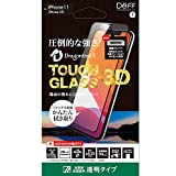 Deff(ディーフ) TOUGH GLASS 3D for iPhone 11 タフガラス (Dragontrail X・クリア) iPhone 11 / iPhone XR