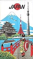 のれん 壁飾り タペストリー 間仕切り 目隠し 半間のれん 伝統 和柄 浮世絵 85×150cm 日本観光 レース 10236A