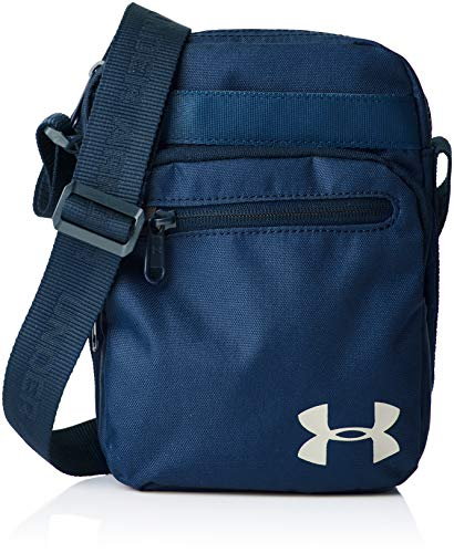 Under Armour Crossbody Duffel, Unisex Adult Blue, Academy/Academy/Silver, One Size