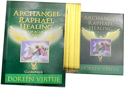 UYIDE 44 Tarotkarten, Engelheilungsspielkarten, Wahrsagungskarten Für Anfänger, Spielkarten Für Familienfeiern