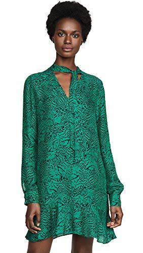 Parker Women's Mercer Dress, Jaded Jaguar, Green, Print, XX-Small