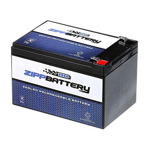 ZIPPBATTERY 12V 12AH - Rechargeable, Replacement Battery for Peg Perego Gator HPX Toy or Riding Car