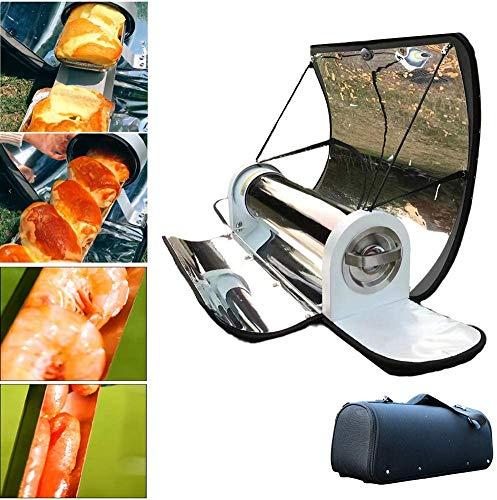 XYWN Solar Cooker Tipo de Equipaje, Cocina Solar portátil con Alta parabólico Temperatura Máxima Eficiencia: 288 ° C (550 ° F)