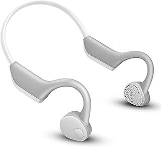 【Bluetooth 5.0最新版】Bluetooth イヤホン 骨伝導 ヘッドホン 超軽量 スポーツ ワイヤレス イヤホン 防水 ブルートゥース ヘッドホン マイク内蔵 iPhone&Android 対応 日本語説明書付き
