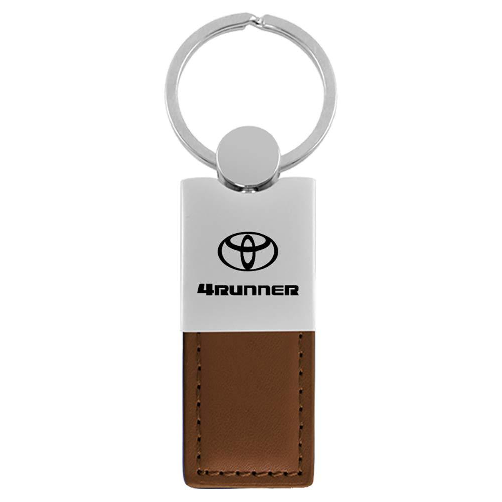 Llavero - Toyota 4Runner Brown Leather Key Ring