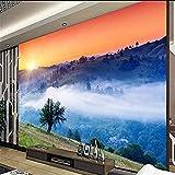 Gran papel pintado personalizado hermoso paisaje en el paraíso paisaje Xanadu paisaje TV decoración de la pared pin papel pintado pared dormitorio de estar sala de estar fondo No tejido-430cm×300cm