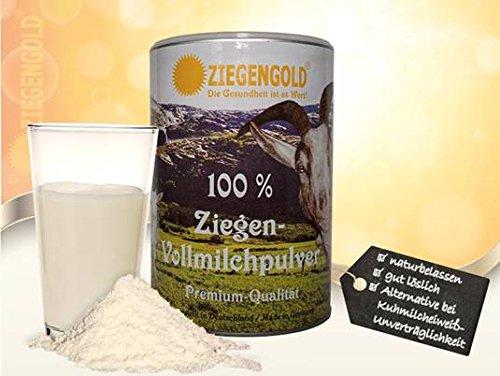 Ziegengold - Ziegenvollmilchpulver